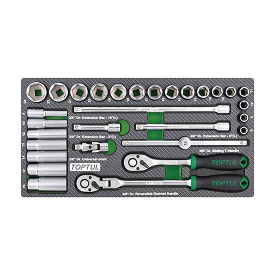 "30PCS - 3/8"" DR. Socket Set"