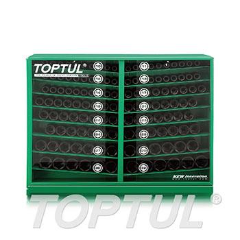 "130PCS 1/2"" DR. Impact Socket Display Set"