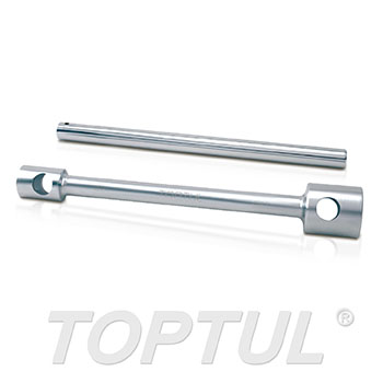 Double-End Truck Wrench W/Bar (6PTxSquare)
