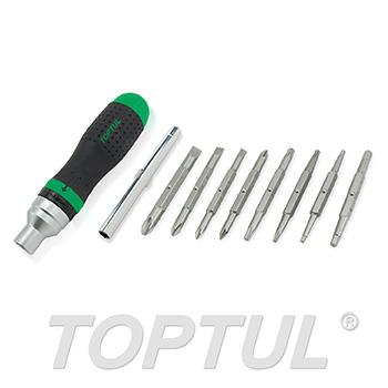 19-In-1 High Torque Ratchet Screwdriver Set