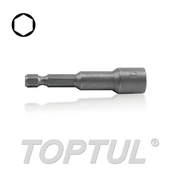 """1/4"""" Hex Shank Magnetic Power Nut Setter (65mml) - METRIC"""