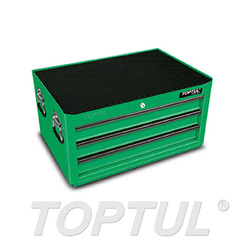 3-Drawer Middle Tool Chest - GENERAL SERIES - GREEN