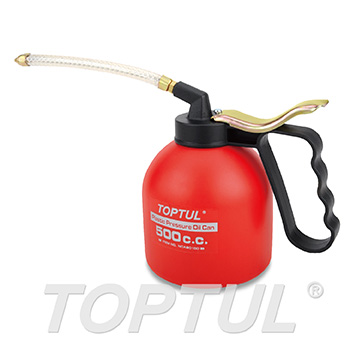 Plastic Pressure Oil Can