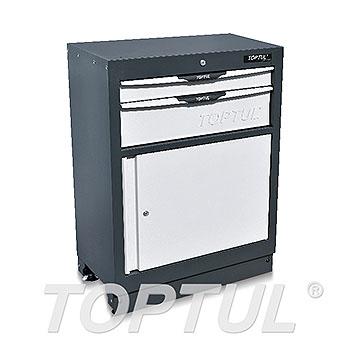2-Drawer Cabinet with Single Door