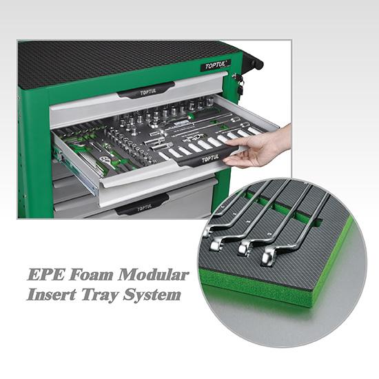 "114PCS 1/4"" DR. Flank Socket, Key Wrench &  Screwdriver Set"