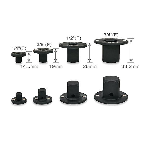 4PCS Magnetic Insert Adapter Set