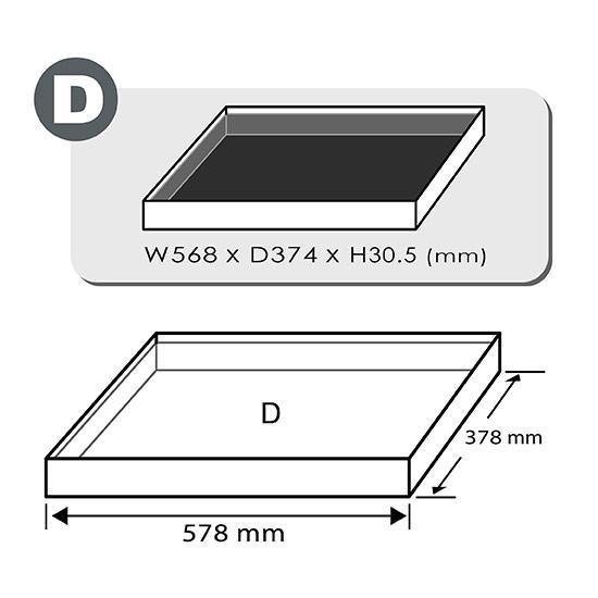 "31PCS - 3/4"" DR. Flank Socket Set (METRIC & SAE)"
