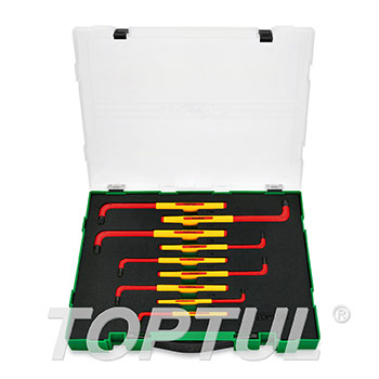 9PCS VDE Insulated Extra Long Type Star Key Wrench Set