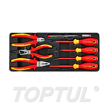 8PCS PRO-PLUS SERIES VDE Insulated Pliers & Screwdriver Set