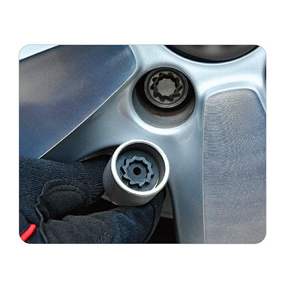 20PCS VW Wheel Lock Nut Key Set